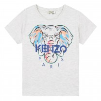 Light Grey Jamilia Elephant T-Shirt