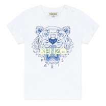 White Tiger Baby T-Shirt