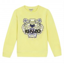 Yellow Tiger Sweatshirt
