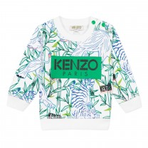Green Disco Jungle Jake Sweatshirt