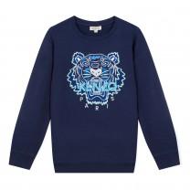 Dark Blue Tiger Sweatshirt (2 - 12 years)