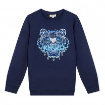 Dark Blue Tiger Sweatshirt (14  years)