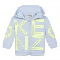 Sky Blue Hooded Jacket