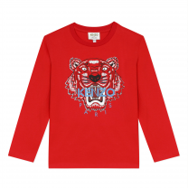 Red Tiger Long Sleeve T-Shirt