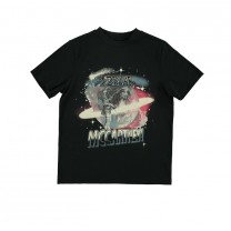Black Galaxy Printed T-Shirt