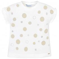 Gold Polkadot T-Shirt