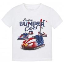 White Bumper Car T-Shirt