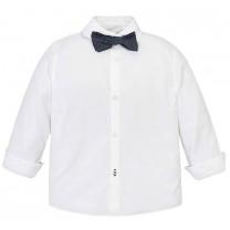 White Bow Tie Shirt