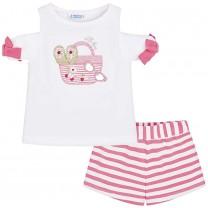 Pink Stripes Set