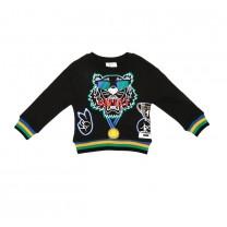 Black Aktion Boy Sweater