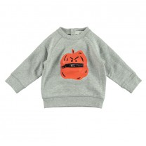 Grey Pumpkin Sweatshirt