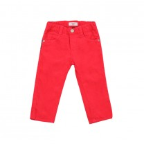 Fuschia Straight Trouser