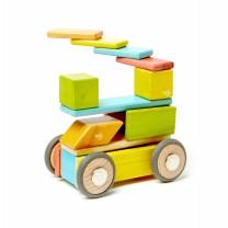 Tints Magnetic Wooden Blocks (42 pieces set)