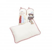 Circus Pillow Bolster Set