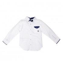 White Formal Long Shirt