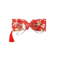 Red Vita Hairclip