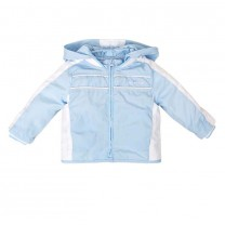 Boys Pale Blue and White Jacket