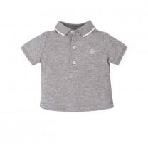 Marl Grey Polo Shirt