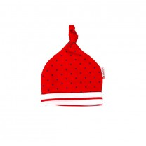 Red Polka Dots Cotton Hat