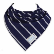 French Stripes Bib