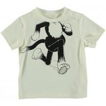 Chuckle Ivory Cotton T-Shirt