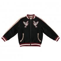 Girls Willow Varsity Jacket