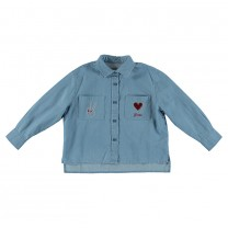 Alyson Cotton Chambray Shirt