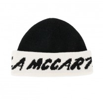 Black Ivory Cotton Beanie