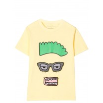 Yellow Funny Face T-Shirt