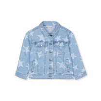 Oversized Stars Denim Jacket