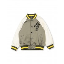 Olive Boy Bomber Jacket
