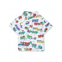 Multicolor Graphic Baby Shirt