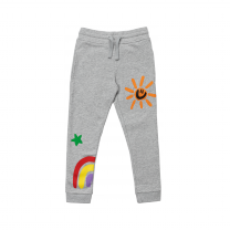 Colorful Weather Print Joggers
