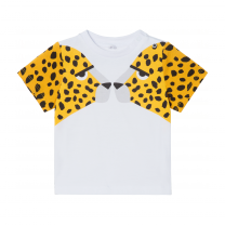 White Cheetah Print Baby T-Shirt