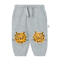 Grey Cheetah Joggers