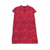 Fuschia Limar Cheongsam Dress