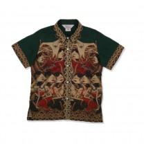 Green Wayang Beber Shirt