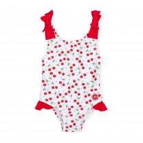 White Cherry Swimsuit