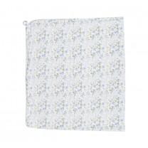 Blue Floral Blanket