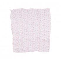 Pink Flutterfly Muslin Wrap