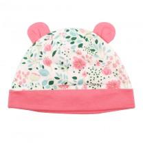 Arctic Poppy Beanie Hat