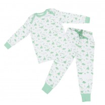 Green Dino Pajama Set