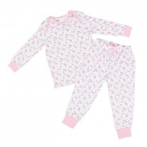 Pink Crown Pajama Set