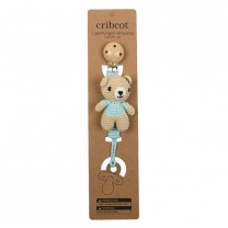 Baby Blue Bear Pacifier Accessories