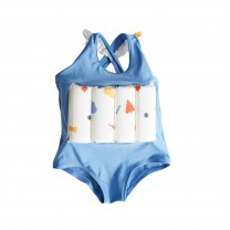 Blue Girls Floatsuit