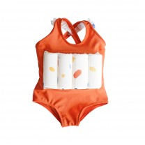 Orange Girls Floatsuit