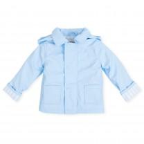 Sky Blue Raincoat