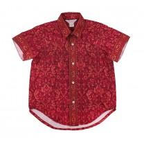Fuschia Limar Printed Shirt
