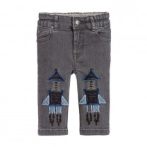 Grey Denim Rocket Jeans