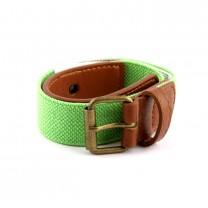Neon Green Stretch Belt